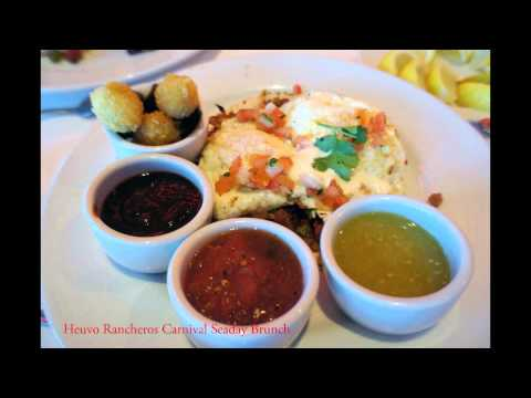 Carnival Breeze Food: 60 Items Showcase