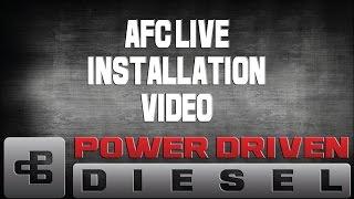 Afc Live In-Cab Diesel Tuner Installation   Power Driven Diesel