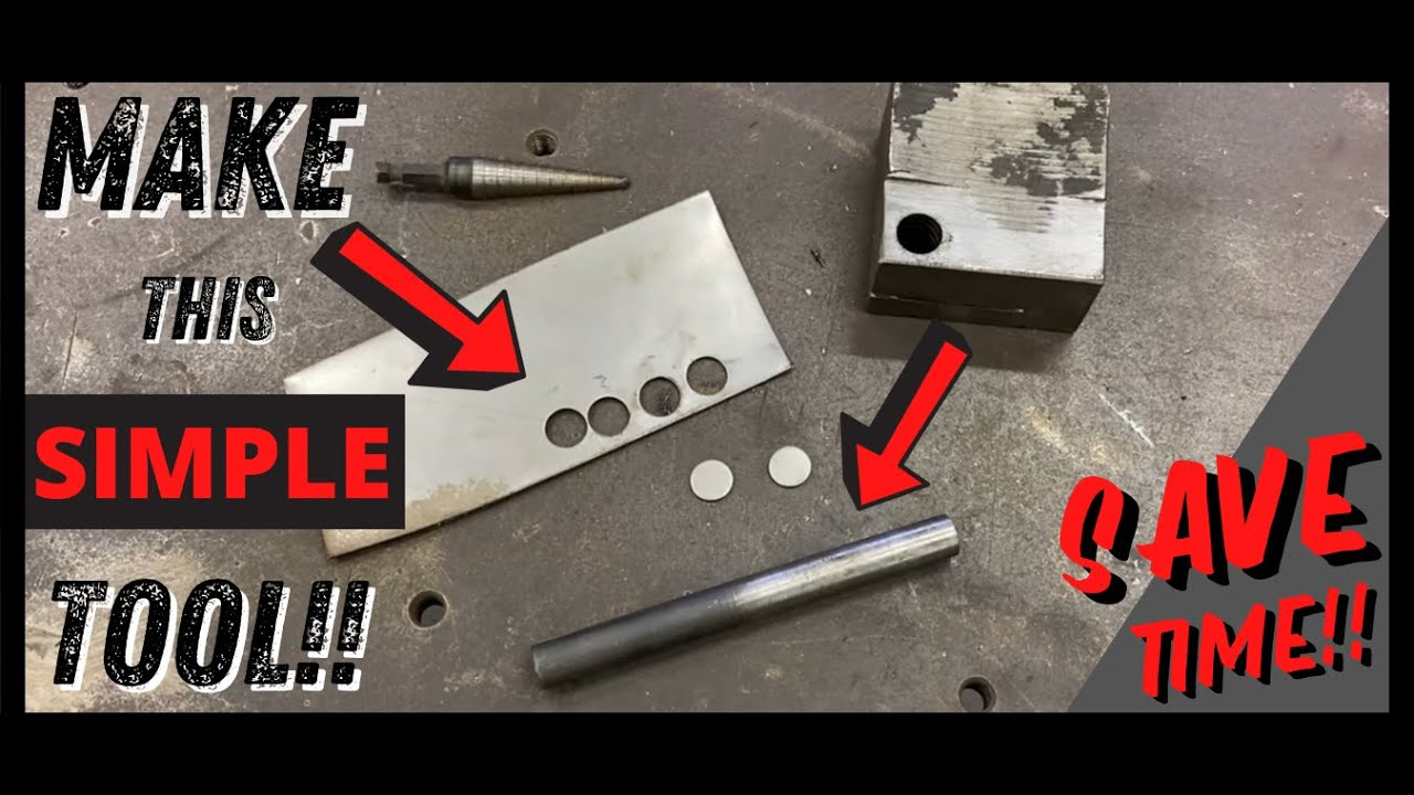 Filling Holes in Sheet Metal EASY with This Simple Tool YOU Can Make!!