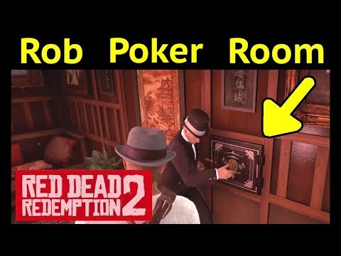 Rob Hidden Room in Red Dead Redemption 2 (RDR2): Saint Denis