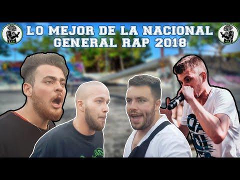 Lo MEJOR de la NACIONAL de GENERAL RAP 2018 (EVENTAZO!!) 🔥