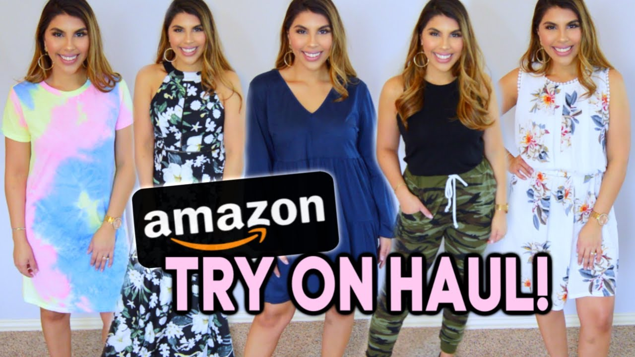 a3fe843a3b34d Amazon Try On Haul (LOTS OF SPRING DRESSES!) | SPRING & SUMMER STYLE 2019