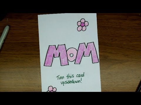 Drawing: How To Make a Mother's Day Card