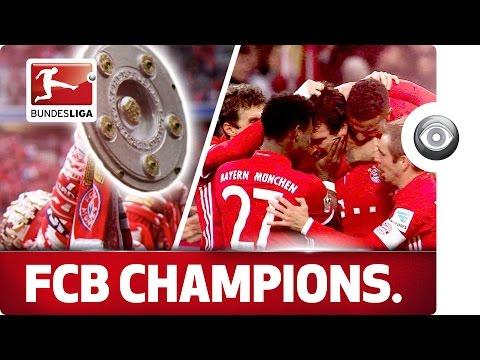 Congratulations FC Bayern München - Bundesliga Champions 2016/2017…