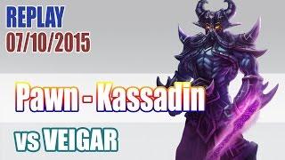 EDG Pawn - Kassadin vs Veigar - EUW LOL SoloQ