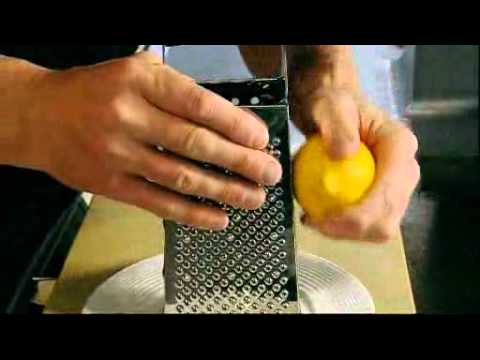 How to zest citrus fruit - Gordon Ramsay