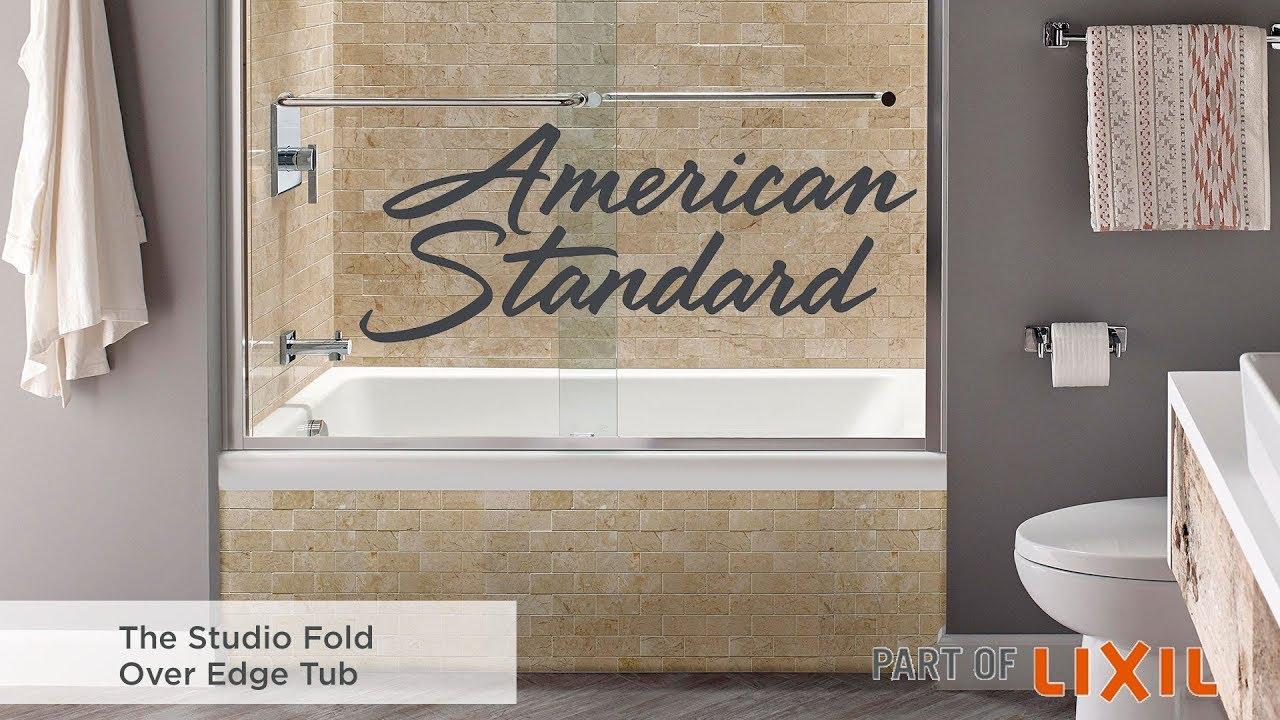 Studio Bathtub With Fold Over Edge Youtube
