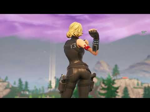 BLONDE BLACK WIDOW /w DANCE EMOTES 😍❤️ FORTNITE ITEM SHOP