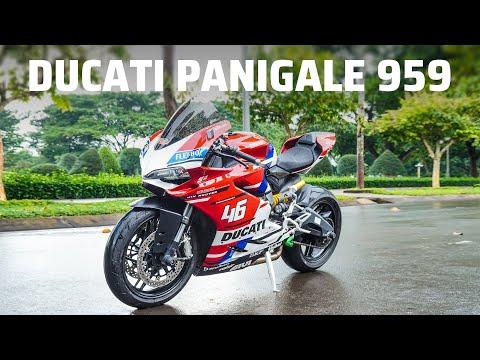 Trên tay Ducati 959 Panigale 2018
