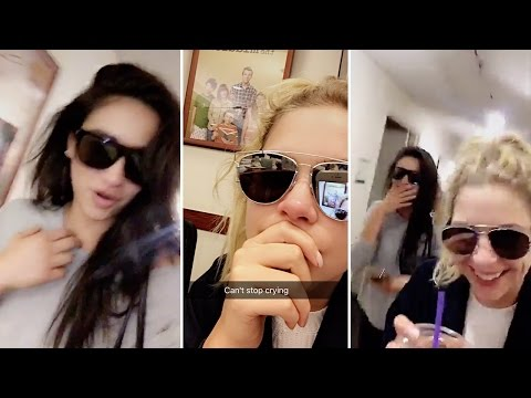 Ashley Benson & Shay Mitchell CRYING Over PLL Ending | Full Video