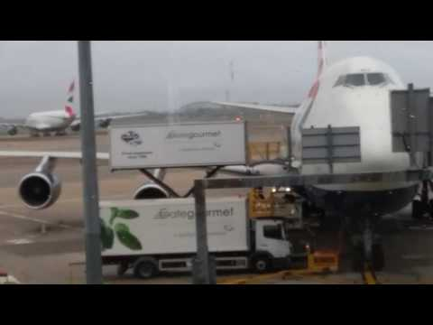 Aviation Heathrow airport terminal 3 747 and A380
