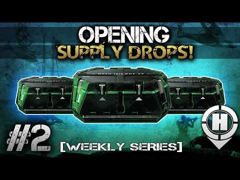 how to open supply drops in advanced warfare