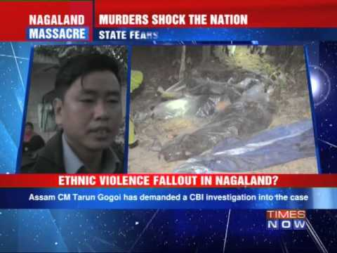 Ethnic violence fall out in Nagaland?