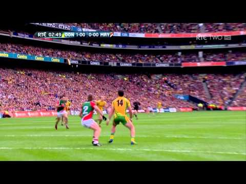 Michael Murphy Goal Donegal V Mayo GAA All Ireland Football Final 2012 HD