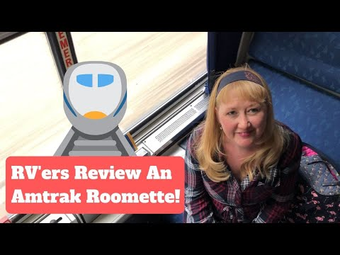 Review Of An Amtrak Roomette!  Overnight Train Travel From NYC To Orlando.