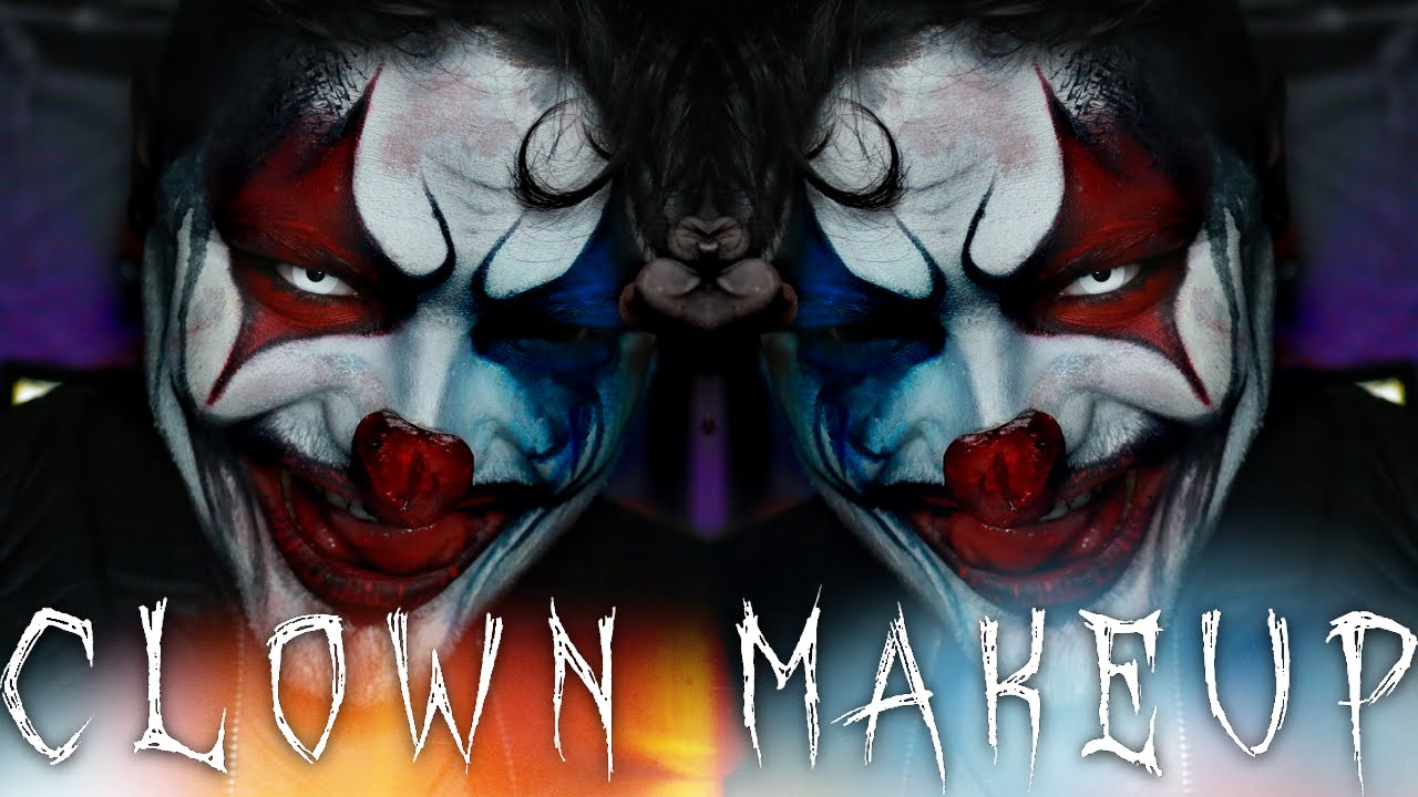 Crazy Clown Halloween Makeup Tutorial | Shaaanxo | 31 Days of ...