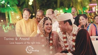 Best Wedding Highlight   Tarina & Anand  Cinematic Film   Vjharsha   Mumbai