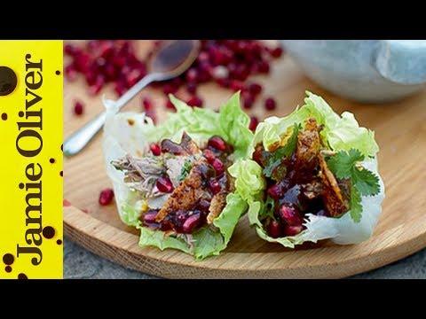 Crispy Roast Duck Wraps | Jamie Oliver