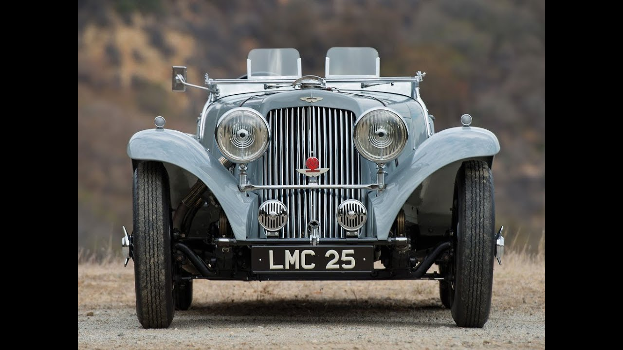 1939 Aston Martin 15 98 Short Chassis Open Sports Youtube