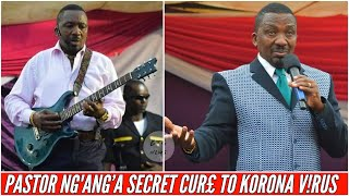 PASTOR NG'ANG'A GUITAR AND HIS SECRET CURE TO KORONA V!RUS IN THE COUNTRY! |BTG News
