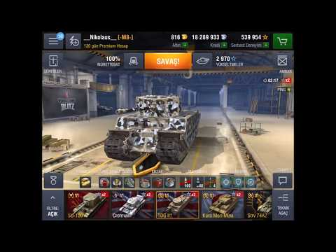 World of Tanks Blitz - Favori Tanklarım - Garajım