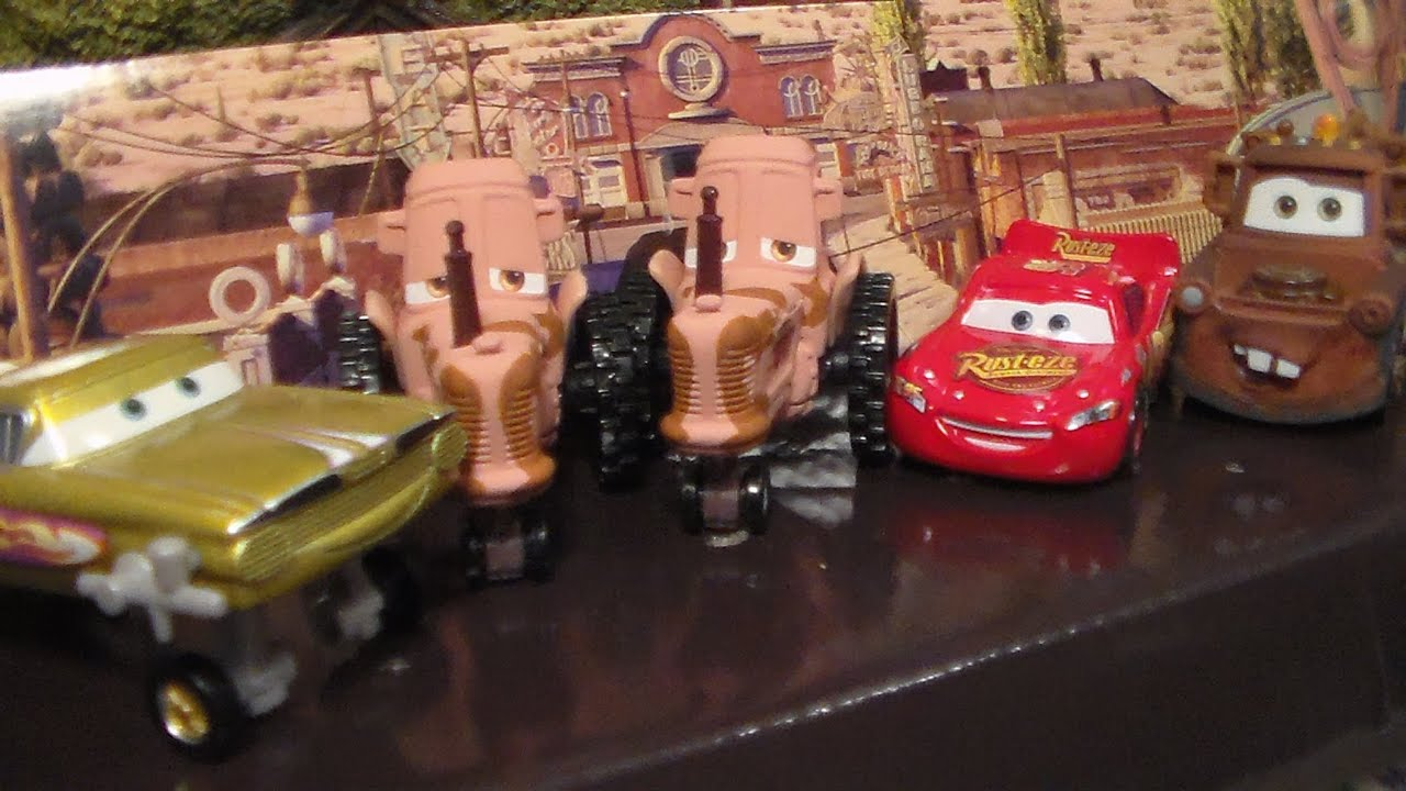 Tractor Stampede 5 Pack New 2015 Disney Cars Tru Diecast