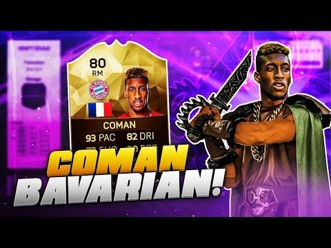 OMG COMAN THE BAVARIAN BAYERN CHAMPIONS LEAGUE HERO! FIFA 16 ULTIMATE TEAM