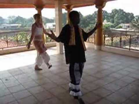 Guinea Dance Lesson, part 3