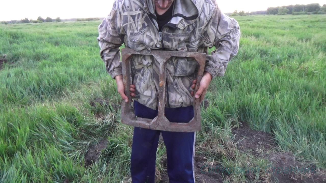 Коп чермета, с металлоискателем Е Трак, на вымерших поселениях.