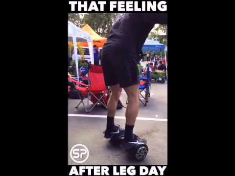 How I Feel After Leg Day - YouTube