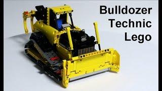 [MOC] Bulldozer LEGO TECHNIC (Wth BuWizz 2.0)