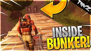 YOU CAN FINALLY GET INSIDE THE SECRET BUNKER IN WAILING WOODS! HOW TO DO IT (Fortnite Battle Royale)