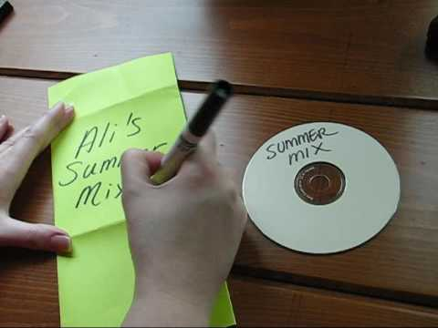Make a Super Simple CD Sleeve! 6/13/2009 - YouTube