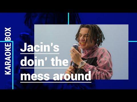 JACIN TRILL doet HILARISCHE COVER van RAY CHARLES' 'Mess Around' | Karaoke Box