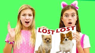 ناستيا وماجي مع قصة عن كلابهم  قصة مفيدة للأطفال عن الطاعة والاحترام الضائعة