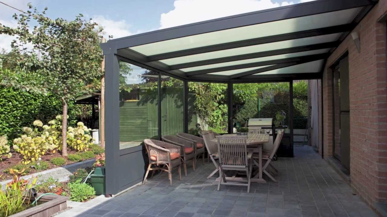 veranclassic fabrikant van aluminium pergola 39 s youtube. Black Bedroom Furniture Sets. Home Design Ideas