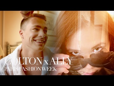 Colton Haynes x Ally Maki Take Over Paris Fashion Week