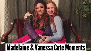 Madelaine Petsch & Vanessa Morgan   Cute Moments