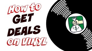 TIPS FOR GETTING DEALS and buying record albums & turntables (Vinyl Community)