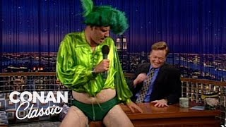 "Will Ferrell Grants Conan's Birthday Wishes - ""Late Night With Conan O'Brien"""