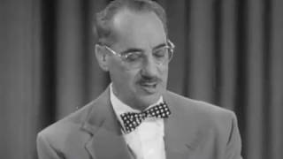 You Bet Your Life - Best of Groucho - Secret Word CLOCK (Fully Closed Captioned)