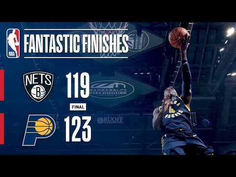 The Nets and Pacers Have a Showdown in OT | December 23, 2017