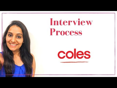 STEP BY STEP INTERVIEW PROCESS - Coles