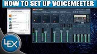 HOW TO SETUP VOICEMEETER (VoiceMeeter Tutorial W/ VB Cable with Skype)