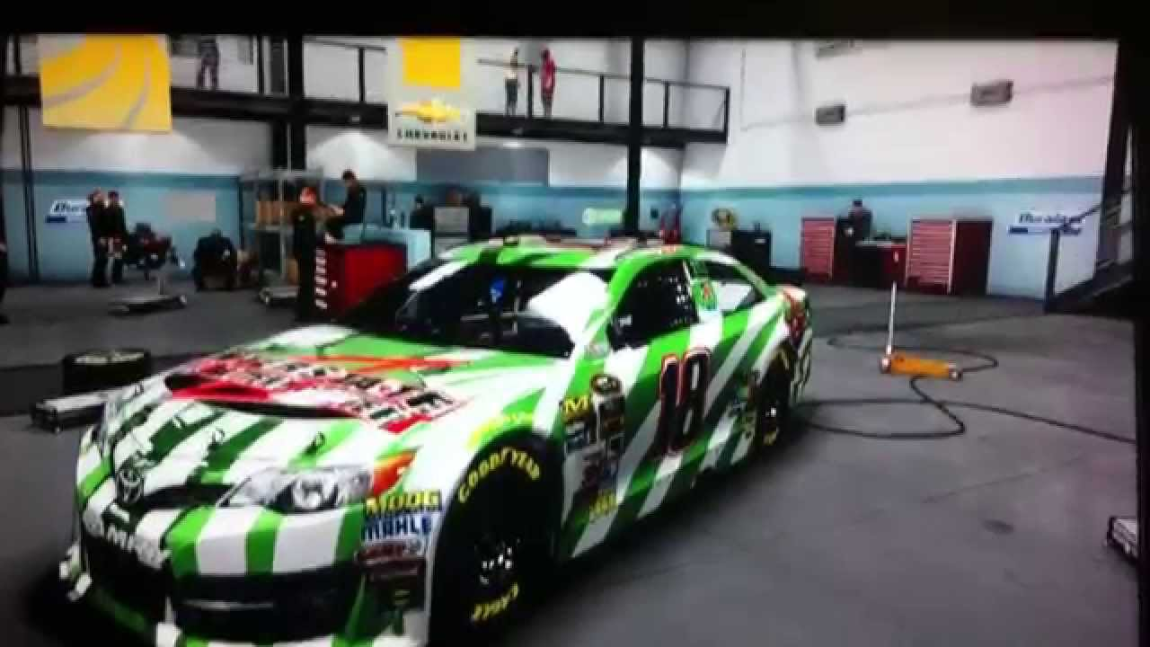 NASCAR 14 Kyle Busch Interstate All Battery Center Paint ...