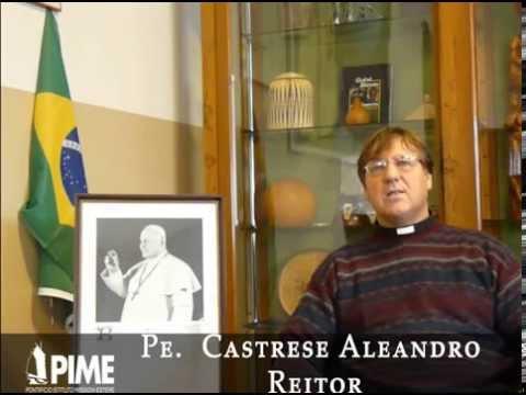 Pe. Castrese Aleandro Reitor da Casa natale do Papa João XXIII