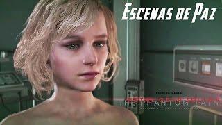 Metal Gear Solid 5 The Phantom Pain Escenas de Paz