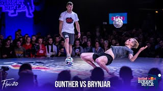 Brynjar Fagerli v Gunther Celli - Top 16 | Red Bull Street Style 2018
