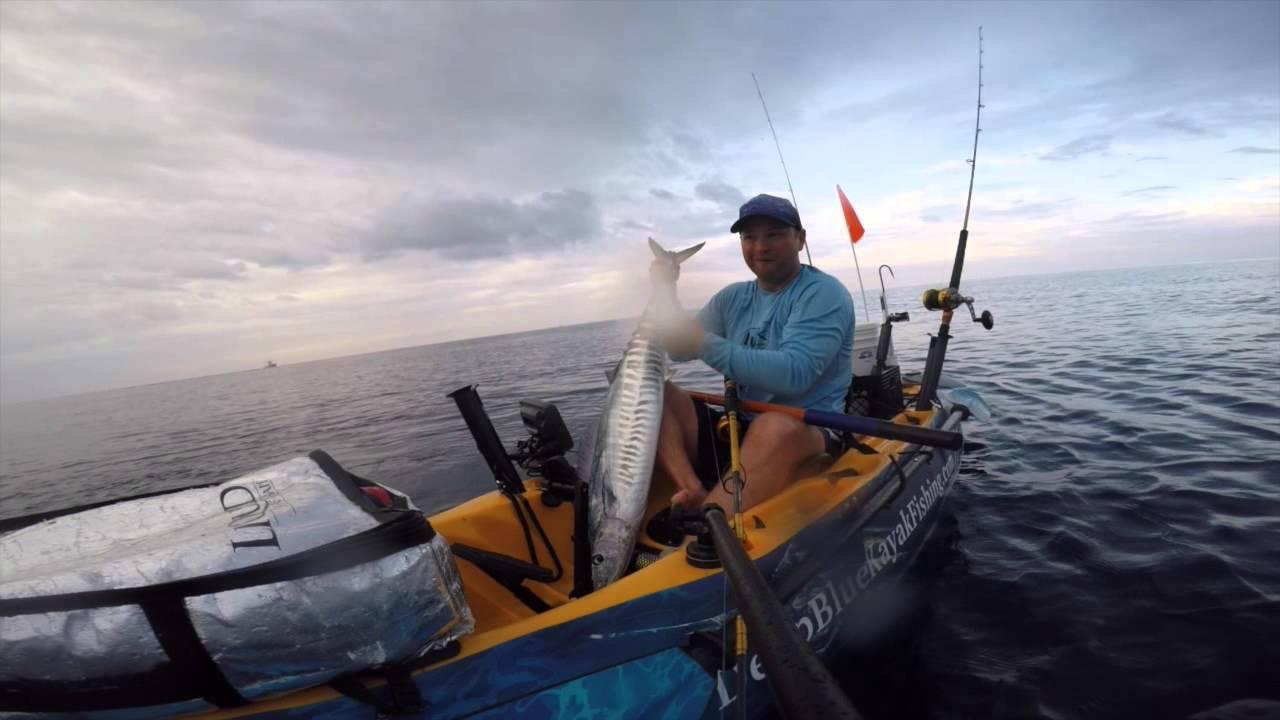 Extreme kayak fishing bahamas youtube for Deep blue kayak fishing