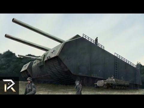 10 Strangest Military Tanks Feared by Armies!